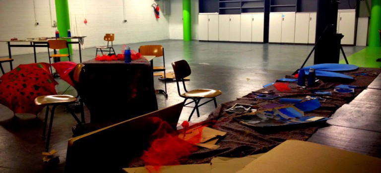 Hier läuft's rund: Proben bei der Theater-AG